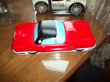vintage Thunderbird collectible tin box  American car of the  great cond.apx.7x4