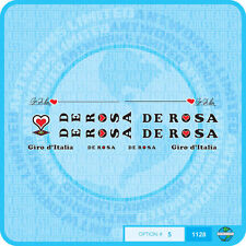 De Rosa - Decals Bicycle Transfers - Stickers - Set 5