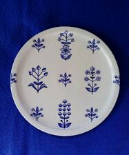 "Arabia Finland porcelain plate ""Tapestry"" 6.5"""