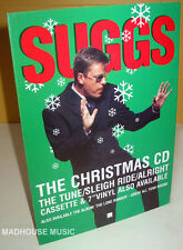 2-TONE Madness SUGGS The Christmas E.P. UK PROMO ONLY DISPLAY Counter Stand MINT