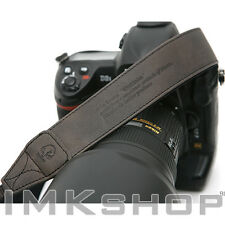 NEW MATIN Vintage-38 BLACK DSLR SLR Camera Neck Shoulder Leather Strap