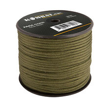 Kombat Heavy Duty 100m of 3mm Green Para Paracord Cord Utility Rope Role Reel