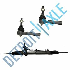Power Steering Rack & Pinion Assembly +BOTH Outer Tie Rods for Chrysler Pacifica