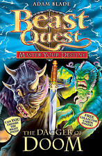 Beast Quest - Master Your Destiny: The Dagger of Doom: v. 2 by Adam Blade New PB