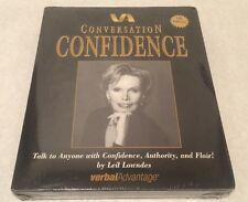 Verbal Advantage Talk To Anyone With Confidence, Authority, And Flair CD New