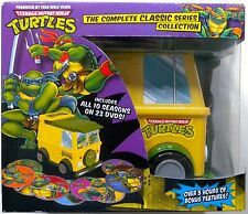 TEENAGE MUTANT NINJA TURTLES COMPLETE CLASSIC SERIES COLLECTION DVD VAN BOX SET