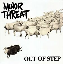 Minor Threat - Out Of Step LP - Sealed - NEW COPY - Ian Mackaye