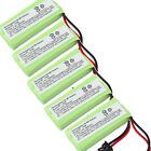 5x Cordless Home Phone Replacement Battery For Uniden BT-1002 BT1002 BBTG0734001