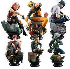 6Pc Naruto Action Figure Doll High Quality Sasuke Gaara Shikamaru Kakashi Sakura