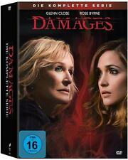 Damages - Im Netz der Macht, Die komplette Serie (15 Discs)(NEU/OVP) Glenn Close