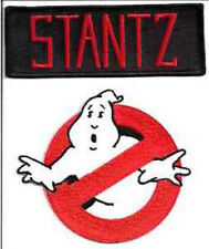"""Ghostbusters/Stantz No Ghosts Logo Screen Accurate 4"""" Patch Set of 2 (GBPA-S02)"""