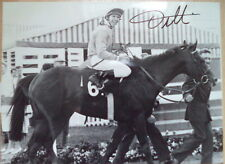 FRANKIE DETTORI ORIGINAL AUTOGRAPHED HORSE RACING PHOTO