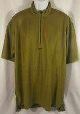 Nike Dri Fit Andre Agassi Men's Shirt Vintage 90's Green Sheer 2XL (XXL) Tennis