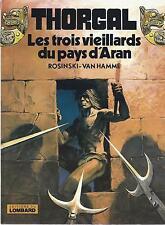 BD  Thorgal  - N°3- Les 3 vieillards du pays d'Aran -  E.O .1981  TBE - Rosinski