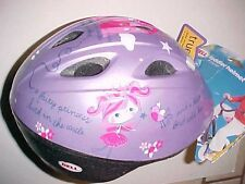 Bell Toddler True Fit Bicycle Helmet Zoomer Purple Frog Bird Fairy Princess New
