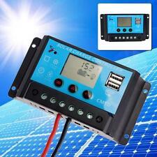 20A 12V/24V PWM LCD Solar Panel Power Charge Controller Battery Regulator RP