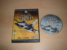 FALCON 4.0 ALLIED FORCE FLIGHT SIMULATOR ~ AIR COMBAT SIMULATION PC GAME