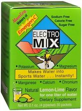Emergen-C Electro Mix Packets Lemon-Lime Flavor 30 Each (Pack of 6)