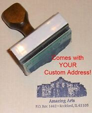 Alamo Rubber Stamp With Your Custom Address