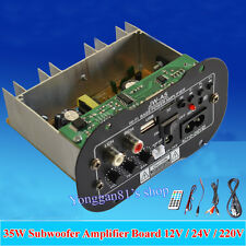 "12V 24V 110-220V 6"" Subwoofer MP3 Decoder 35W Amplifier Board für Car Motorcycle"