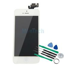 Full LCD/Digitizer Touch Screen Assembly Button & Camera OEM for iPhone 5 White