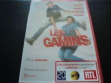 """DVD NEUF """"LES GAMINS"""" Alain CHABAT, Max BOUBLIL, Sandrine KIBERLAIN"""