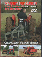 Tractor/Implements DVD: MASSEY FERGUSON FARM IMPLEMENTS & MACHINERY PART 1