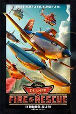 Planes 2 Fire & Rescue  - original DS movie poster - D/S 27x40 Advance