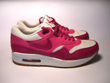 ORIGINAL PINK LEATHER WOMAN SHOES JOGGERS NIKE AIR MAX VNTG  SIZE 6