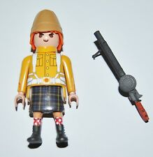 36158 Highlander Gordon 92nd India metralleta Lewis CUSTOM playmobil pegatina