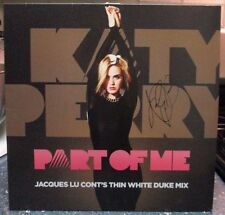 """Katy Perry signed Part of Me 12"""" record store day LP"""