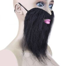 Funny Halloween Costume Fake Beard Moustache Mustache Facial Tash Party Whiskers