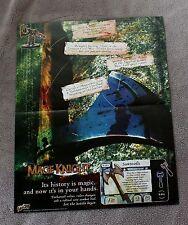 Mage Knight 2003 Weisman Wargame RPG Sawtooth Wizkids Toy Comic PROMO Poster VF