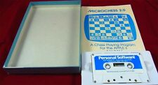 2 Apple: microchess 2.0 - Personal Software 1978