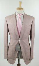 NWT TOM FORD Mauve Canapa Blend 2 Button Suit 48/38 R
