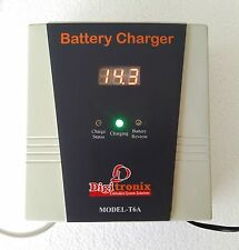 CAR Battery Charger - Lead Acid 12v Battery Charger - 6 Amps - with Volt Display