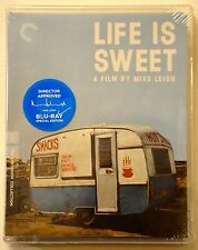 LIFE IS SWEET Criterion Special Edition - NEW SEALED BLU-RAY!!