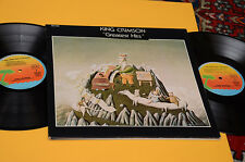 KING CRIMSON 2LP A YOUNG PERSON..1°ST ORIG FRANCE EX CON LIBRETTO  WITH BOOK