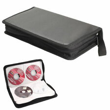 80Pcs Disc Capacity CD VCD DVD Album Wallet Case Storage Bag Portable Holder Box