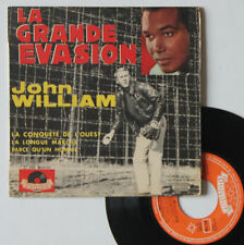 "Vinyle 45T John William ""La grande évasion"""