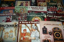 Lot 15 Decorative Tole Painting Pattern Books Folk Art Seasons Holiday Band Box+