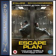 ESCAPE PLAN -Sylvester Stallone & Arnold Schwarzenegger  ***BRAND NEW DVD ****