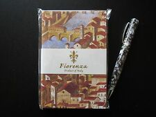 """Fiorenza """"Old Florence"""" A6 hardcover plain writing journal"""