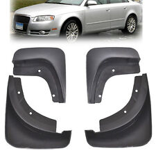 FIT FOR 05 06 07 08 AUDI A4 (B7) SALOON MUD FLAP FLAPS SPLASH GUARDS MUDGUARDS