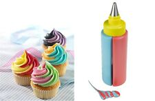 SFK Delish Treats Two Tone Icing Bottle kitchen baking tools