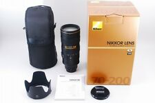 【AB Exc+】Nikon AF-S NIKKOR 70-200mm f/2.8 G ED VR II Lens w/Box From JAPAN #2098