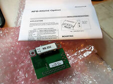Honeywell NPB-RS232 Option Card New In Box
