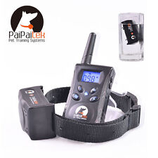 PaiPaitek 500 Yards Remote Pet Dog Training Collar Dog Bark Stop Collar PD520