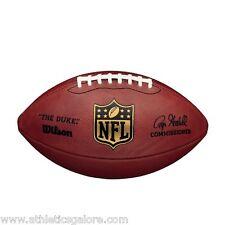 WILSON F1100 NFL GAME BALL THE DUKE(Replica signature of  Roger Goodell)