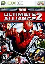 Marvel Ultimate Alliance 2 XBOX 360! HULK, CAPTAIN AMERICA, SPIDERMAN, IRON MAN